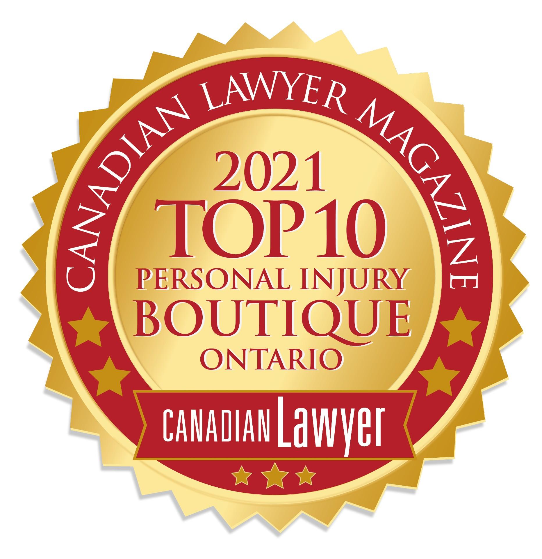 medical malpractice lawyers, canadian lawyer top 10