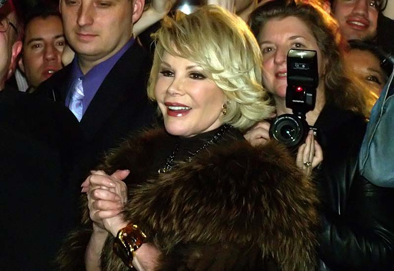 Unplanned biopsy on vocal cords may have led to death of Joan Rivers